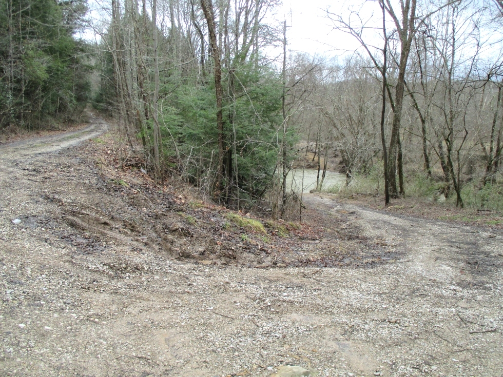 SOLD Walker Mill Dam Rd., Williamsburg, KY \ 35 acres +/- of wooded land bordering Jellico Ck. Kentucky Real Estate